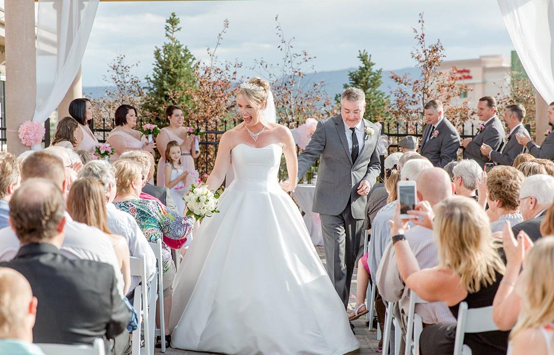 Wedding ceremony - Ashley Ridge - Littleton, Colorado - Arapahoe County - Wedgewood Weddings