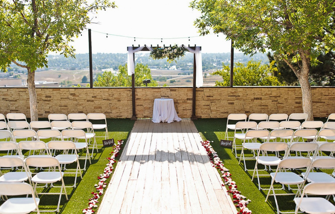 Ceremonies with a view - Brittany Hill - Thornton, Colorado - Adams County - Weld County - Wedgewood Weddings