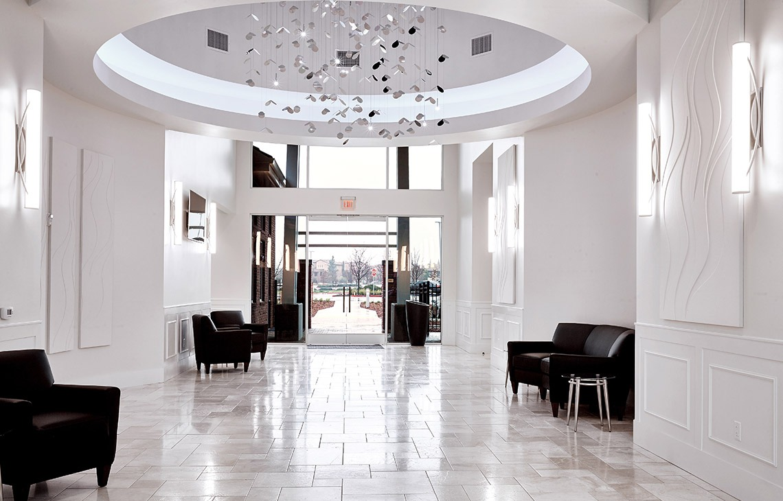 Event venue foyer - Union Brick - Roseville, California, Placer County - Wedgewood Weddings