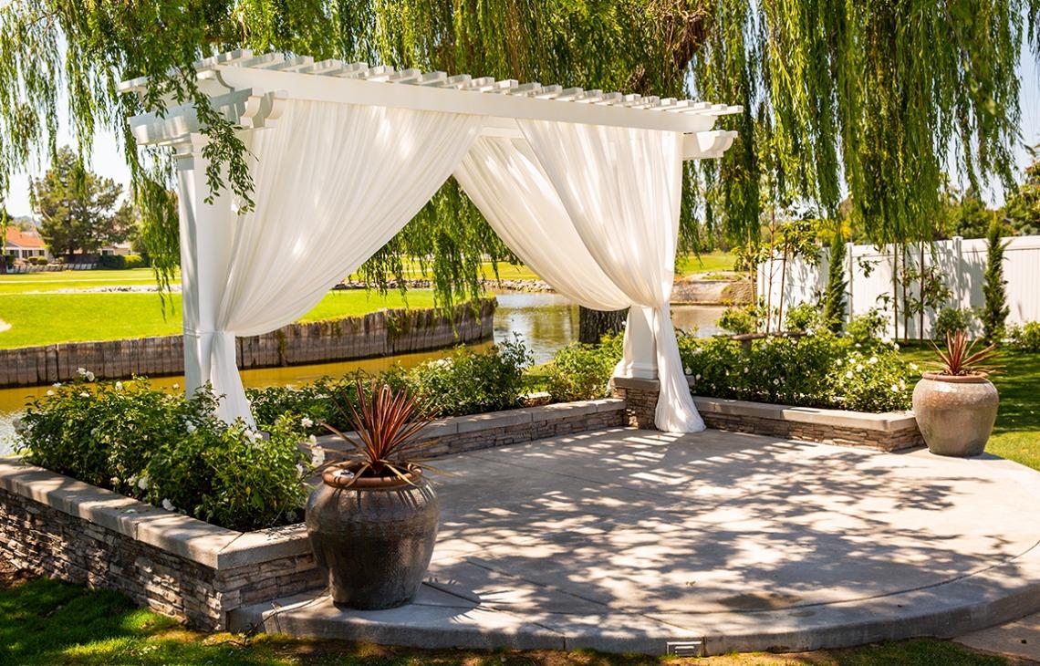 Updated Ceremony Site  San Ramon - San Ramon, California - Contra Costa County - Wedgewood Weddings