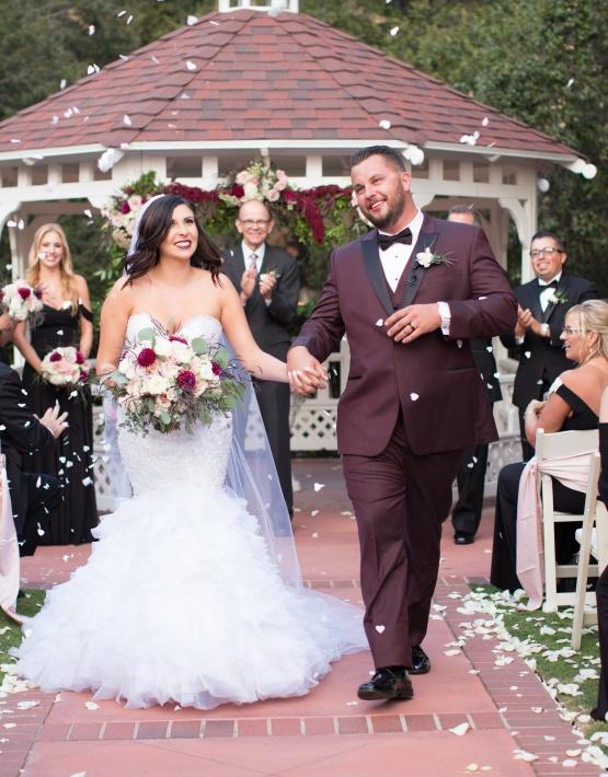 Happy Couple - Sierra La Verne - La Verne, California - Claremont Area - Los Angeles County - Wedgewood Weddings