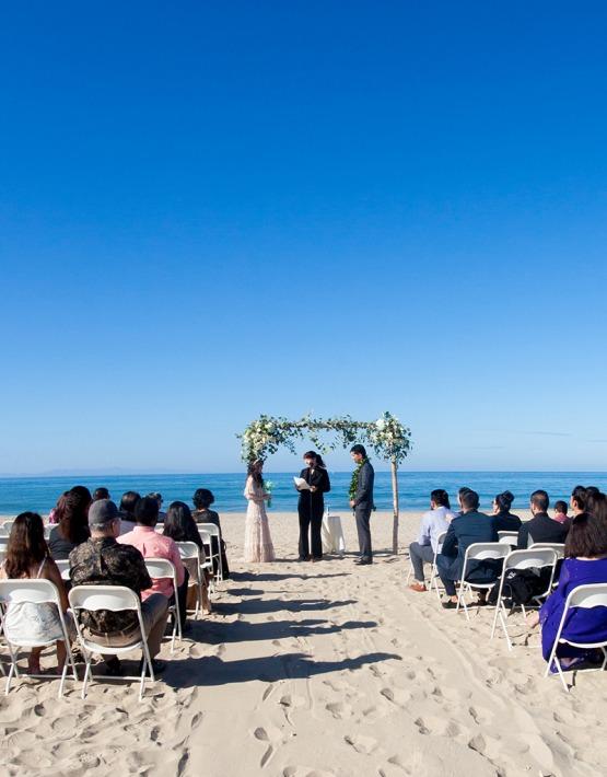 Seaside ceremonies - Pacific View Tower Club - Oxnard, California - Ventura County - Beach Wedding - Wedgewood Weddings