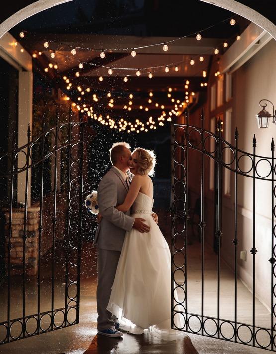 Romantic kiss  - Ken Caryl - Littleton, Colorado - Arapahoe County - Wedgewood Weddings