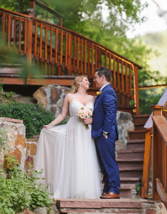 Stairway to Love - Boulder Creek - Boulder, Colorado - Boulder County - Wedgewood Weddings
