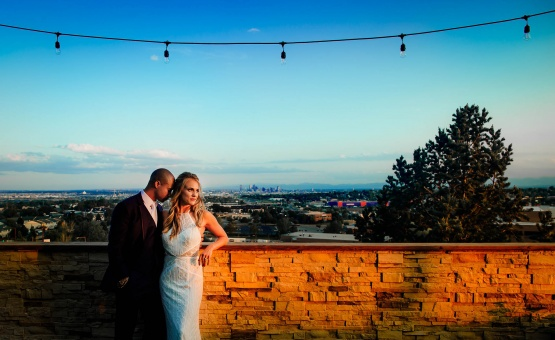 Denver sunsets are one-of-a-kind - Brittany Hill - Thornton, Colorado - Adams County - Weld County - Wedgewood Weddings