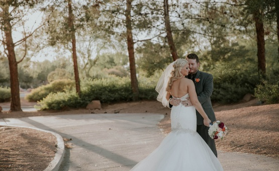 Romantic wooded scenery - Las Vegas - Las Vegas, Nevada - Clark County - Wedgewood Weddings