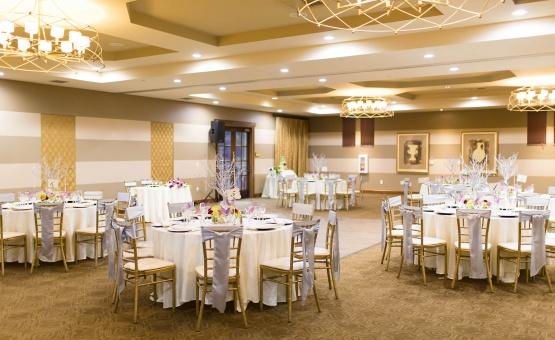 Reception in the Grand Venezia ballroom - Vellano - Chino Hills, California - San Bernardino County - Wedgewood Weddings