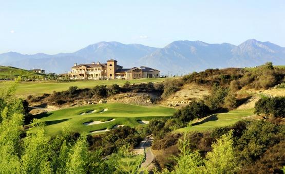 Mountain views from the estate - Vellano - Chino Hills, California - San Bernardino County - Wedgewood Weddings