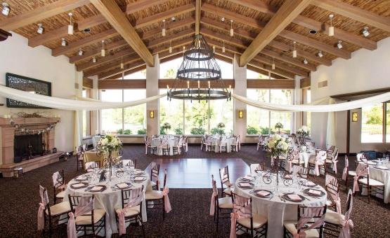 Wedding reception with rustic touches - Menifee Lakes - Menifee, California - Riverside County - Wedgewood Weddings
