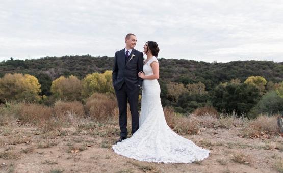 Bride and Groom - Sierra La Verne - La Verne, California - Claremont Area - Los Angeles County - Wedgewood Weddings
