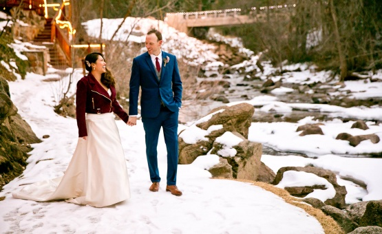Stylish winter wedding  - Boulder Creek - Boulder, Colorado - Boulder County - Wedgewood Weddings