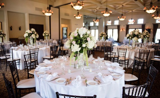 Indoor reception - Fallbrook - Fallbrook, California - San Diego County - Wedgewood Weddings