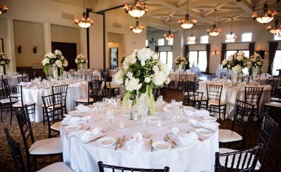 Indoor reception - Fallbrook - Fallbrook, California - San Diego County - Wedgewood Weddings