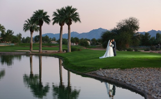 Gorgeous photo opportunities throughout the property - Palm Valley - Goodyear, Arizona - Maricopa County - Wedgewood Weddings