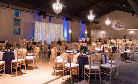 Beautiful indoor reception - Black Forest - Colorado Springs, Colorado - El Paso County - Wedgewood Weddings