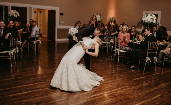 Take a dip on the dance floor - Brittany Hill - Thornton, Colorado - Adams County - Weld County - Wedgewood Weddings