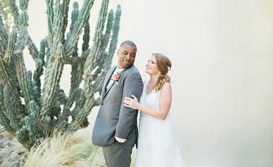 Cactus Couple - Temecula, California - Riverside County - Wedgewood Weddings