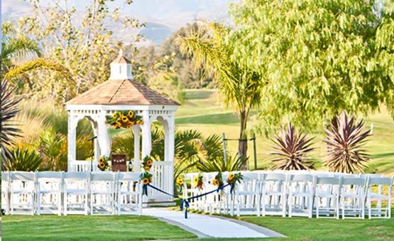 Outdoor ceremony site - Sterling Hills - Camarillo, California - Ventura County - Wedgewood Weddings