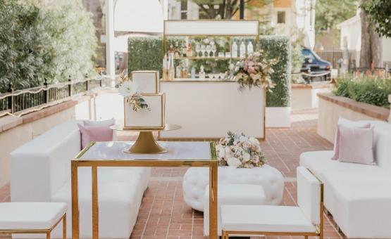 Cocktail hour - Sterling Hotel - Sacramento, California - Sacramento County - Wedgewood Weddings