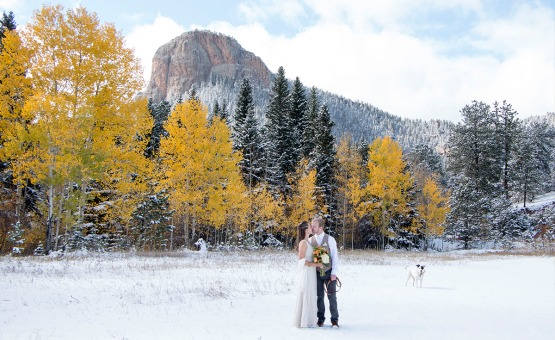 Autumn Beauty Mountain View Ranch - Pine, Colorado - Jefferson County - Wedgewood Weddings