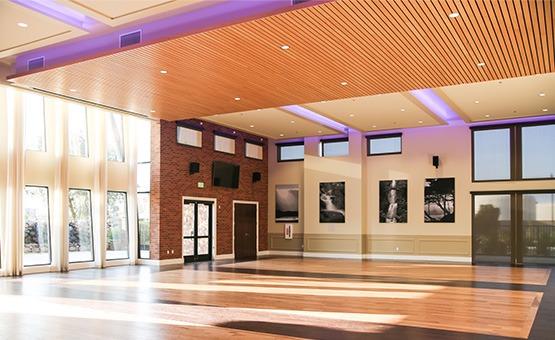 Spacious reception hall - Evergreen Springs - Elk Grove, California - Sacramento County - Wedgewood Weddings