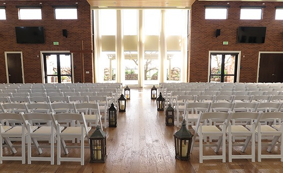 Indoor ceremony site - Evergreen Springs - Elk Grove, California - Sacramento County - Wedgewood Weddings