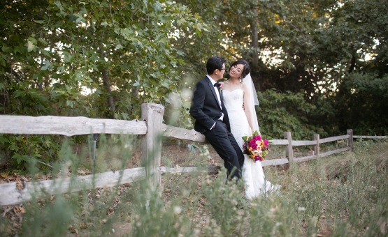 Newlyweds - Fallbrook - Fallbrook, California - San Diego County - Wedgewood Weddings