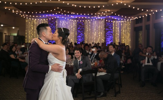 First Dance Kiss - Las Vegas - Las Vegas, Nevada - Clark County - Wedgewood Weddings