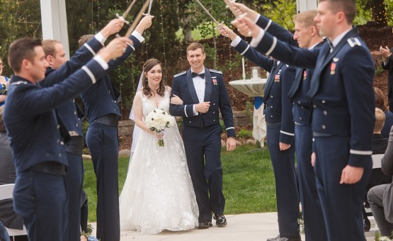 Grand ceremonies fit for a queen - Ken Caryl - Littleton, Colorado - Arapahoe County - Wedgewood Weddings