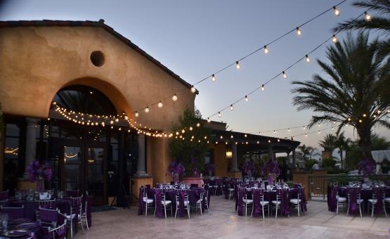 Outdoor reception - The Retreat - Corona, California - Riverside County - Wedgewood Weddings