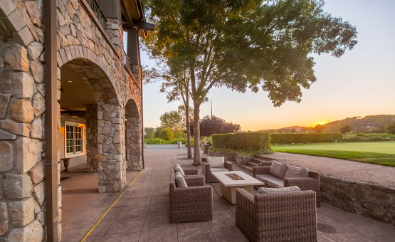 Patio with views - StoneTree - Novato, California - Marin County - Wedgewood Weddings