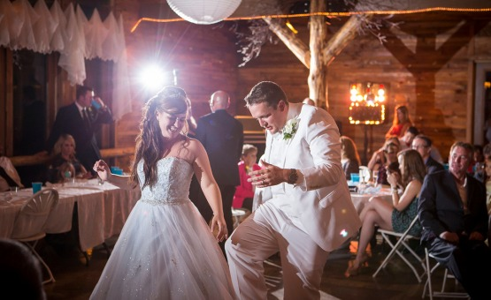 Reception Dancing Mountain View Ranch - Pine, Colorado - Jefferson County - Wedgewood Weddings