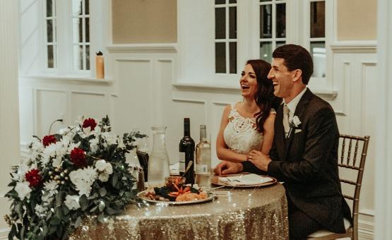 Sweetheart tables invoke romance - Lindsay Grove - Mesa, Arizona - Maricopa County - Wedgewood Weddings