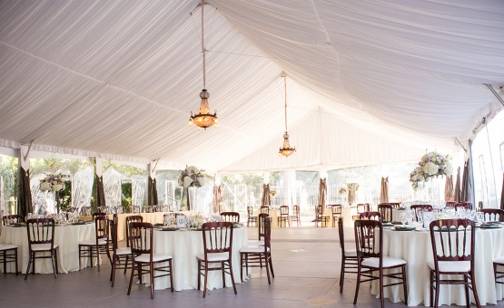 Tented reception - Jefferson Street Mansion - Benicia, California - Solano County - Wedgewood Weddings