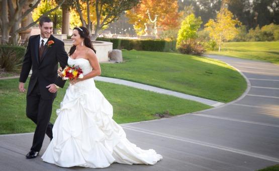 Walking couple - Sterling Hills - Camarillo, California - Ventura County - Wedgewood Weddings