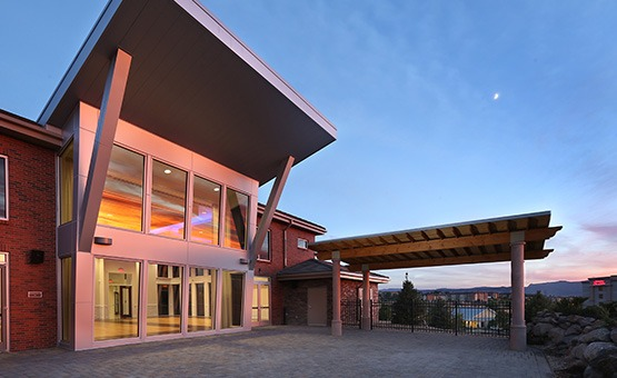 Building exterior - Ashley Ridge - Littleton, Colorado - Arapahoe County - Wedgewood Weddings
