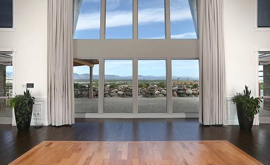 Views from reception room - Ashley Ridge - Littleton, Colorado - Arapahoe County - Wedgewood Weddings