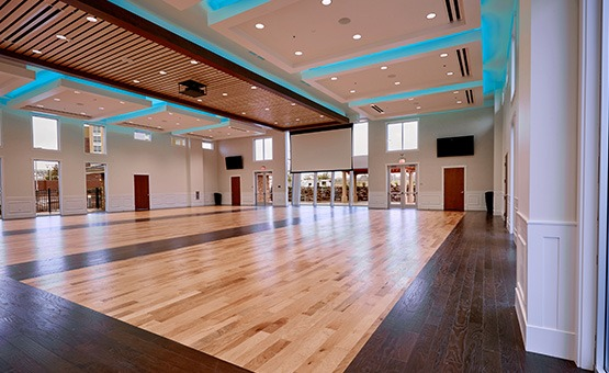 Spacious reception room - Union Brick - Roseville, California, Placer County - Wedgewood Weddings