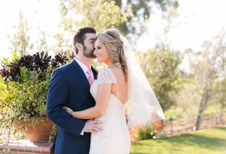 Bride and groom - San Clemente - San Clemente, California - Orange County - Wedgewood Weddings