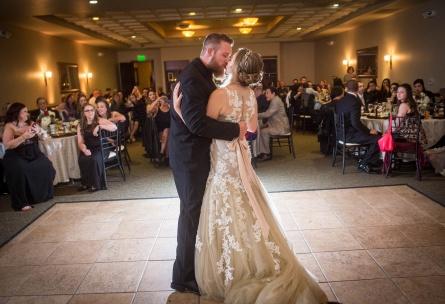 First dance in ballroom - The Retreat - Corona, California - Riverside County - Wedgewood Weddings