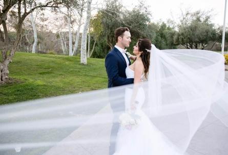 Romantic Bride and Groom - Fallbrook - Fallbrook, California - San Diego County - Wedgewood Weddings