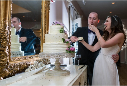 Wedding cakes are included at Wedgewood Weddings Sequoia Mansion – Sacramento Area