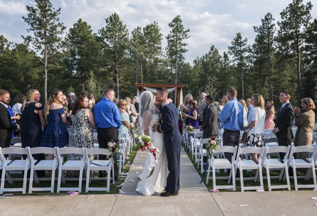 Wedding ceremony - Black Forest - Colorado Springs, Colorado - El Paso County - Wedgewood Weddings