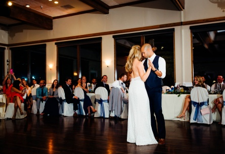 First dance in the ballroom at Wedgewood Weddings Brittany Hill – Denver, Colorado