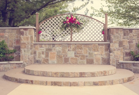 Wedding ceremony site - North Shore - Wadsworth, Illinois - Lake County - Wedgewood Weddings