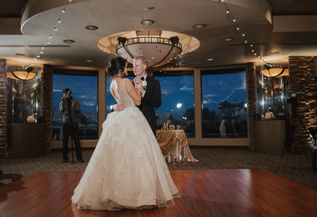 First dance in the Citation Room - Las Vegas - Las Vegas, Nevada - Clark County - Wedgewood Weddings