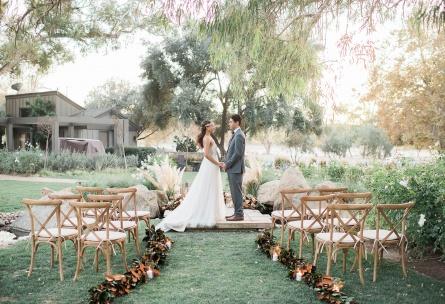 Boho Outdoor Cerermony - Galway Downs - Temecula, California - Riverside County - Wedgewood Weddings
