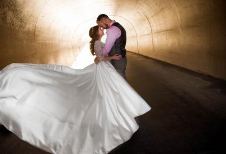 Wedding venue tunnel - The Retreat - Corona, California - Riverside County - Wedgewood Weddings