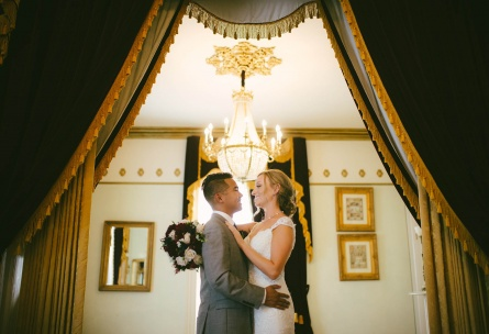 Charming historic character throughout the venue - Jefferson Street Mansion - Benicia, California - Solano County - Wedgewood Weddings