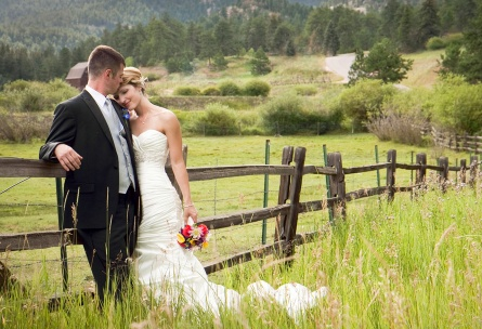 Gorgeous Ranch Views Mountain View Ranch - Pine, Colorado - Jefferson County - Wedgewood Weddings